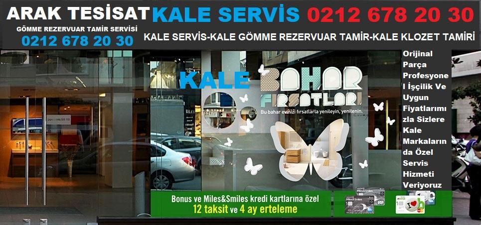 KALE SERVİS ESENLER 0212 678 20 30
