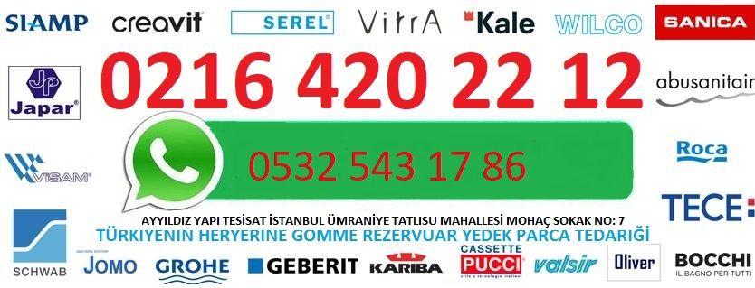 GÖMME REZERVUAR YEDEK PARCA 0216 420 22 12